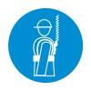 Работать в предохранительном (страховочном) поясе. Знаки безопасности