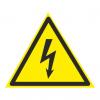 Опасность поражения электрическим током. знаки безопасности