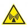 Внимание. Электромагнитное поле. знаки безопасности