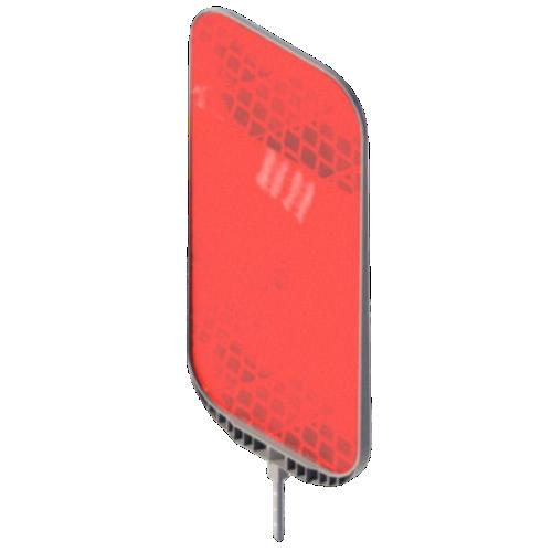 Катафот дорожный КД-6 пластиковый [тип пленки А]