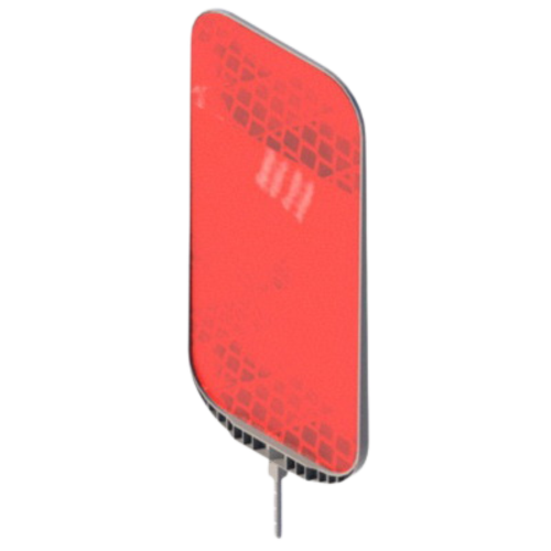 Катафот дорожный КД-6 пластиковый [тип пленки В]