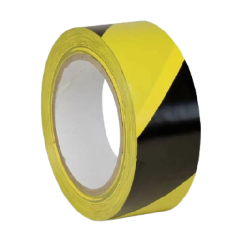 Лента для разметки пола желто-черная (Premium)