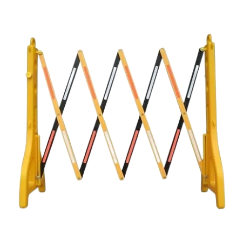 Переносной раздвижной барьер (желтый)