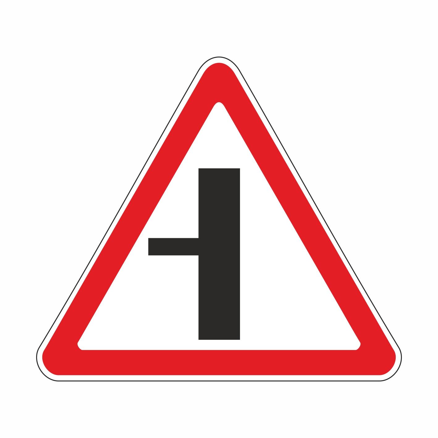 2.3.3 Примыкание второстепенной дороги