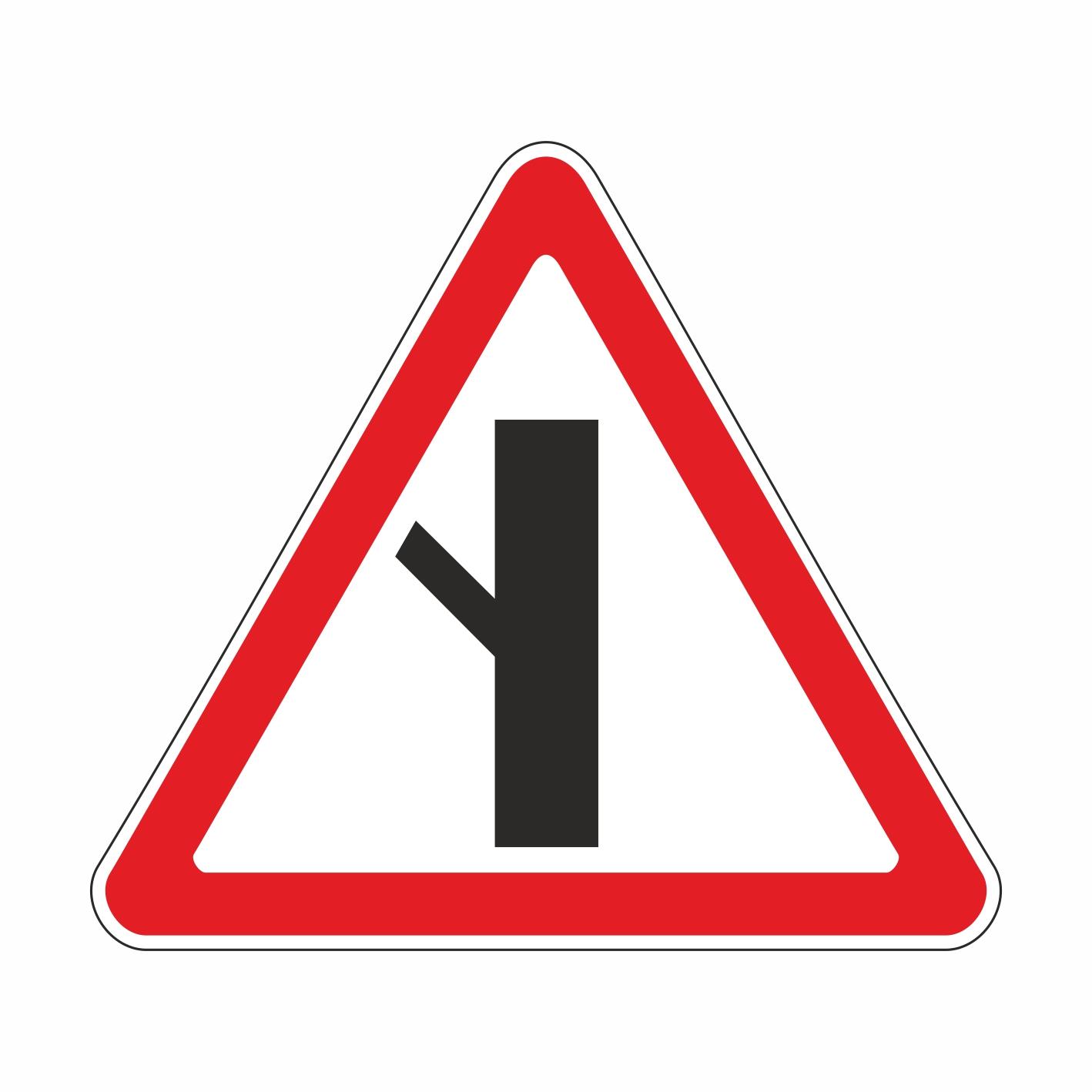 2.3.5 Примыкание второстепенной дороги