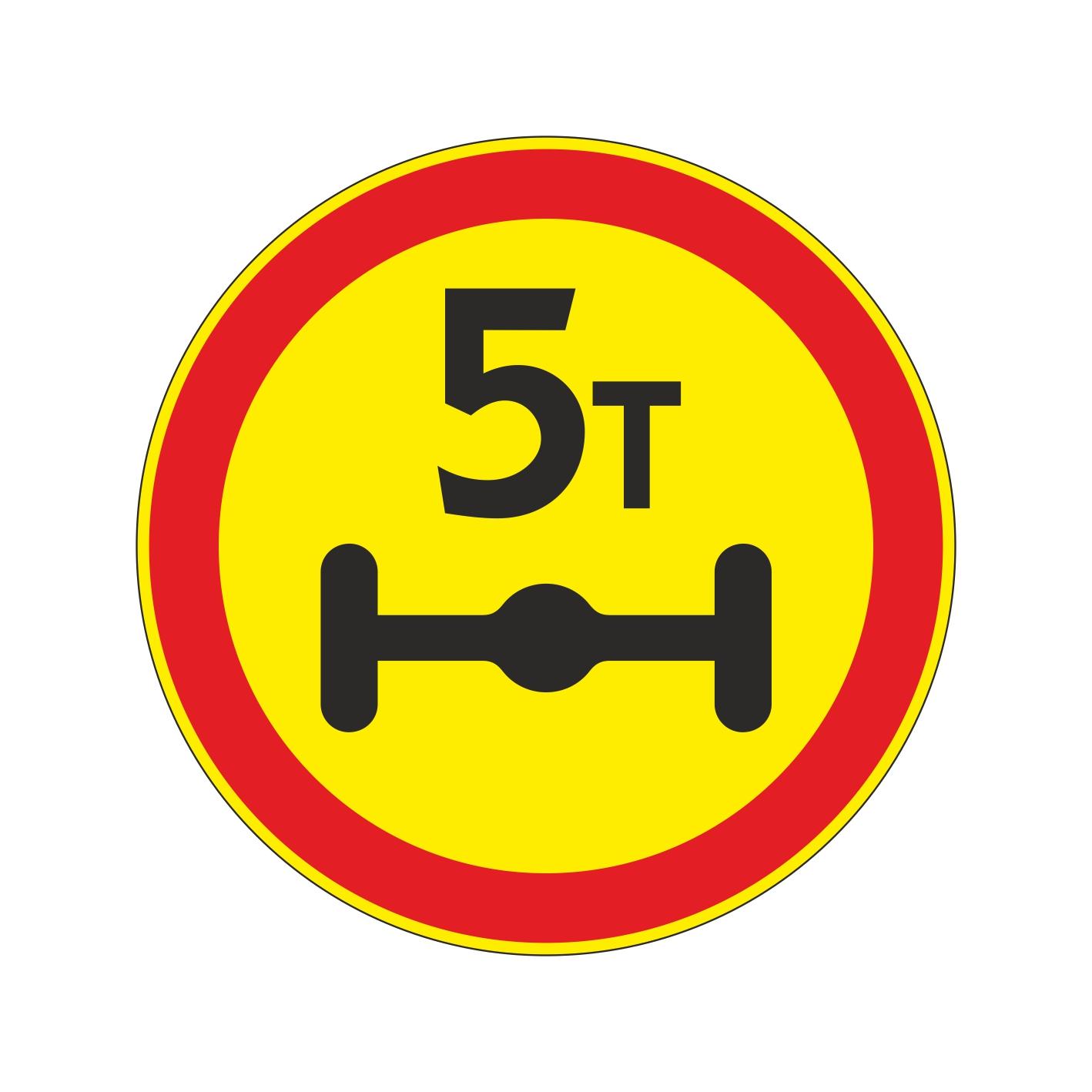 3.12 (временный) Ограничение массы, приходящейся на ось ТС