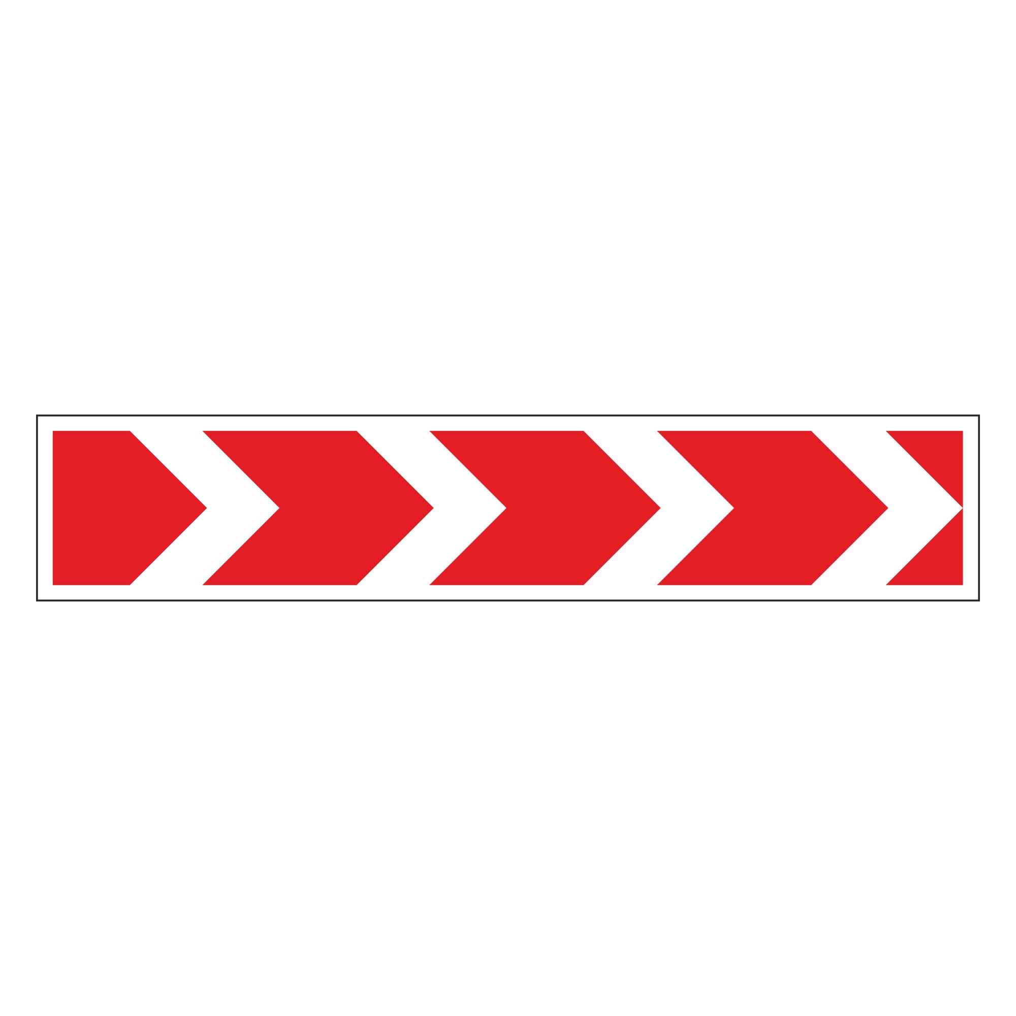1.34.1 Направление поворота размер 3 (четыре стрелки)