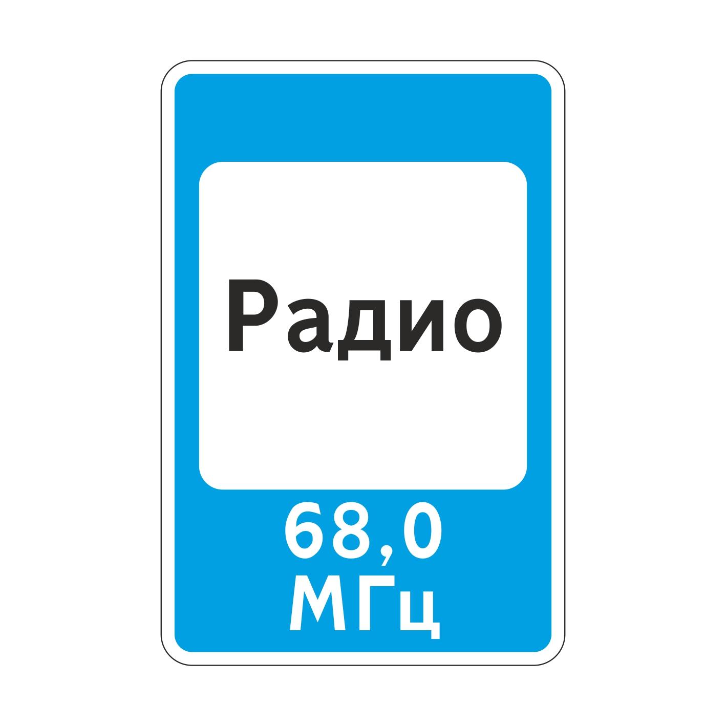7.15 Зона приема радиостанции