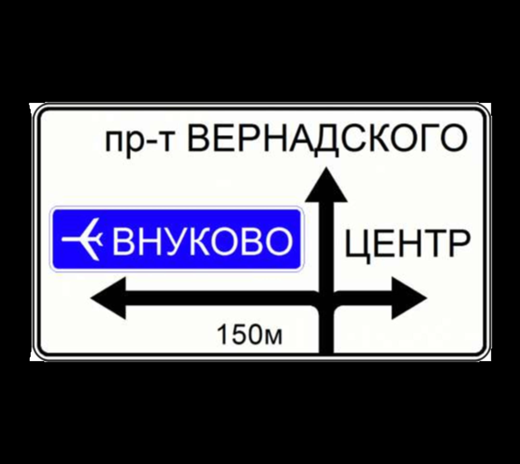 6.9.1 Предварительный указатель направлений
