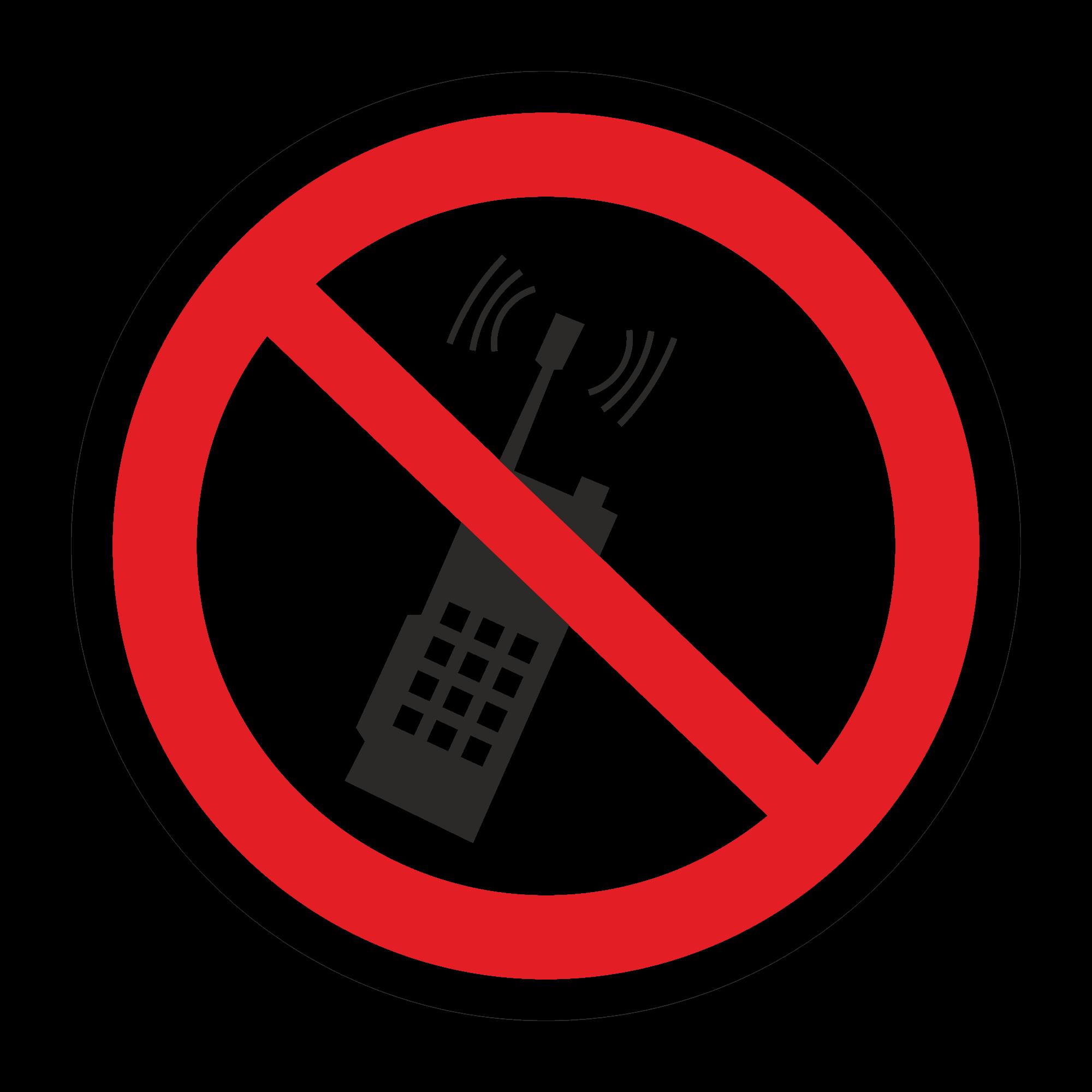 Р18 Запрещается пользоваться мобильным телефоном или переносной рацией