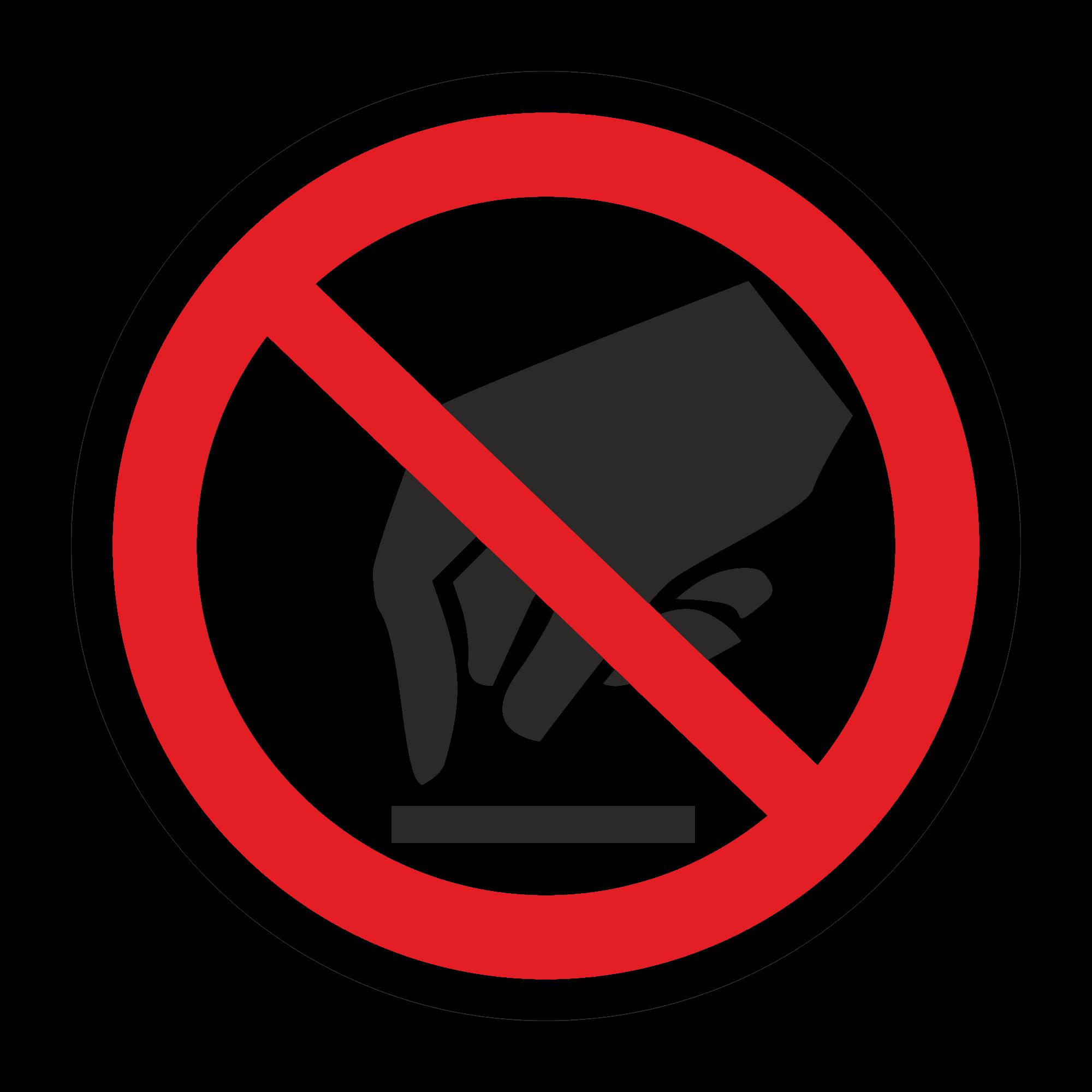 Р08 Запрещается прикасаться. Опасно