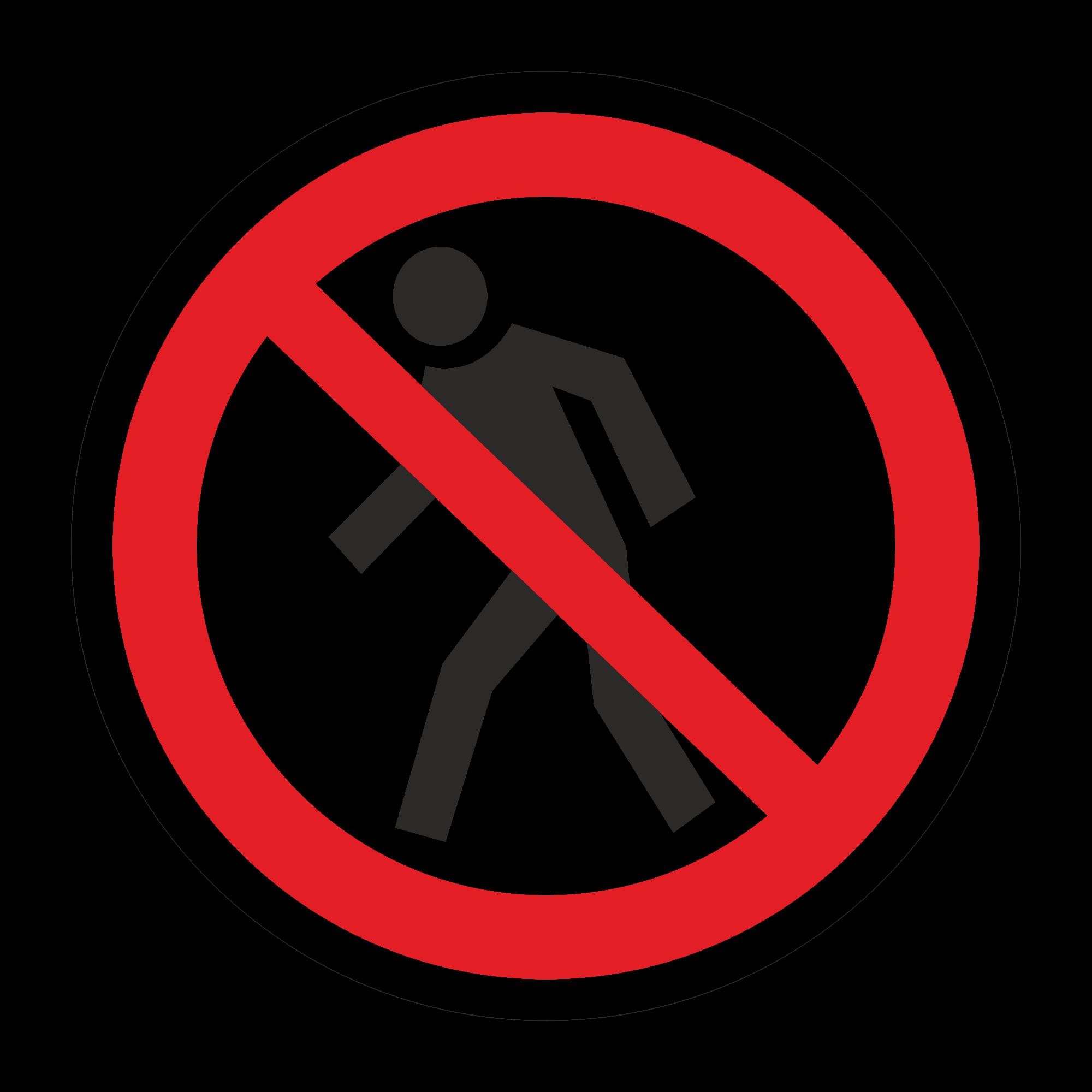 Р03 Проход запрещен