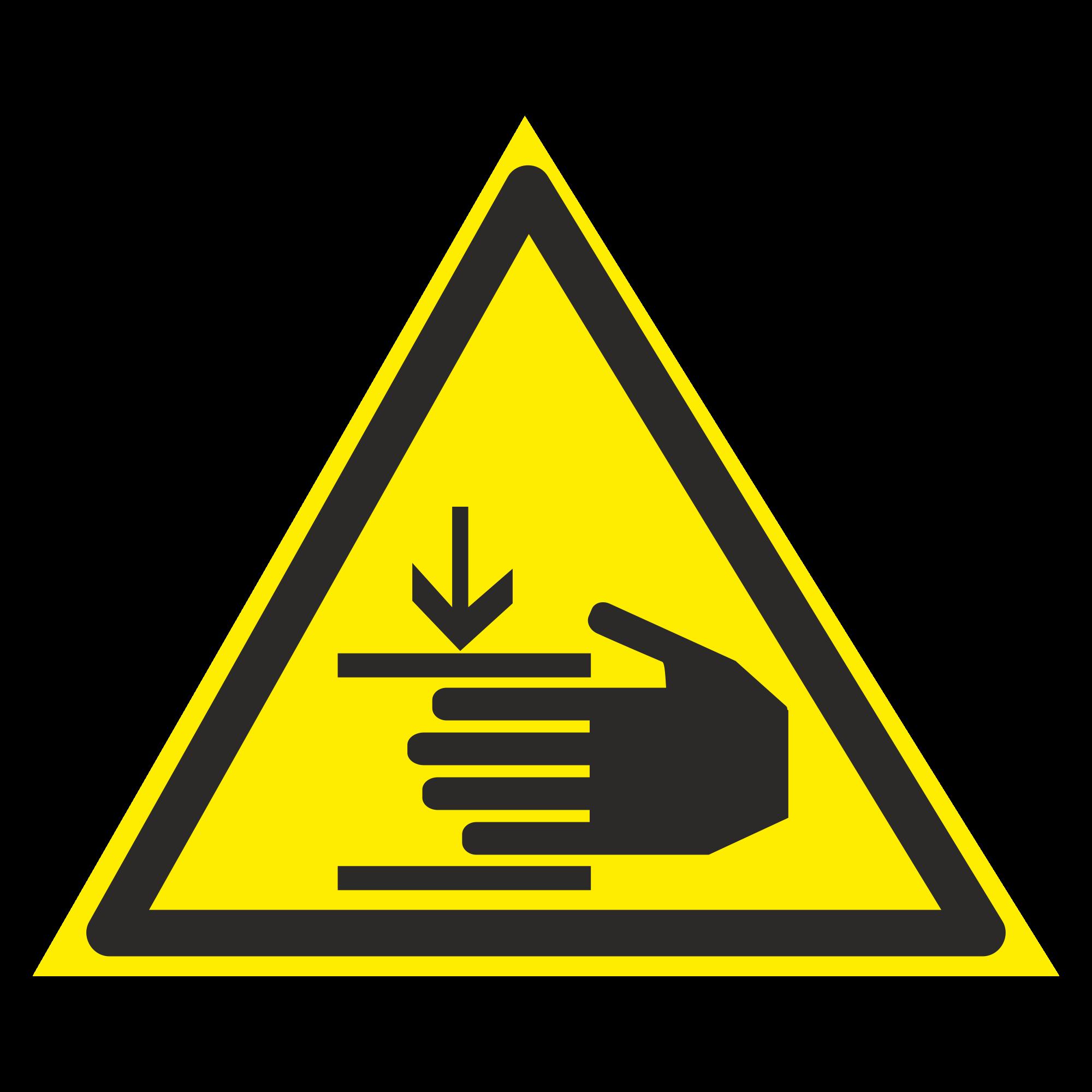 W27 Осторожно. Возможно травмирование рук