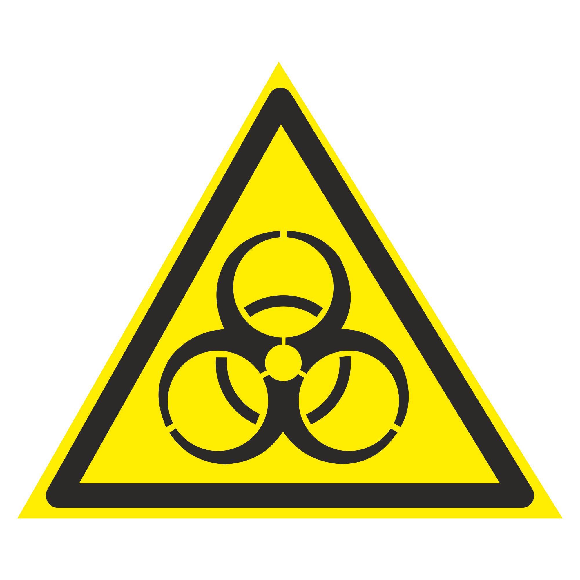 W16 Осторожно. Биологическая опасность