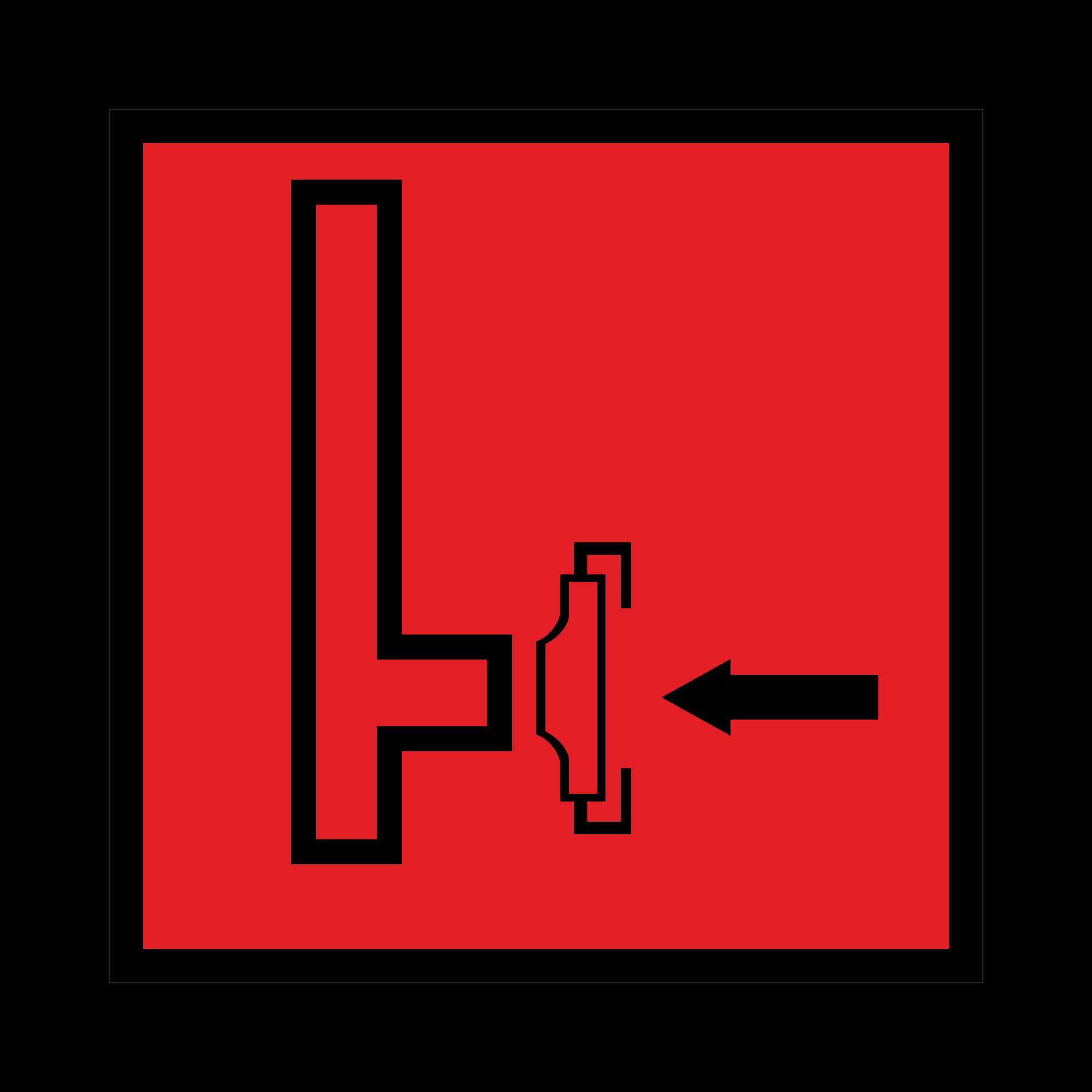 F08 Пожарный сухотрубный стояк