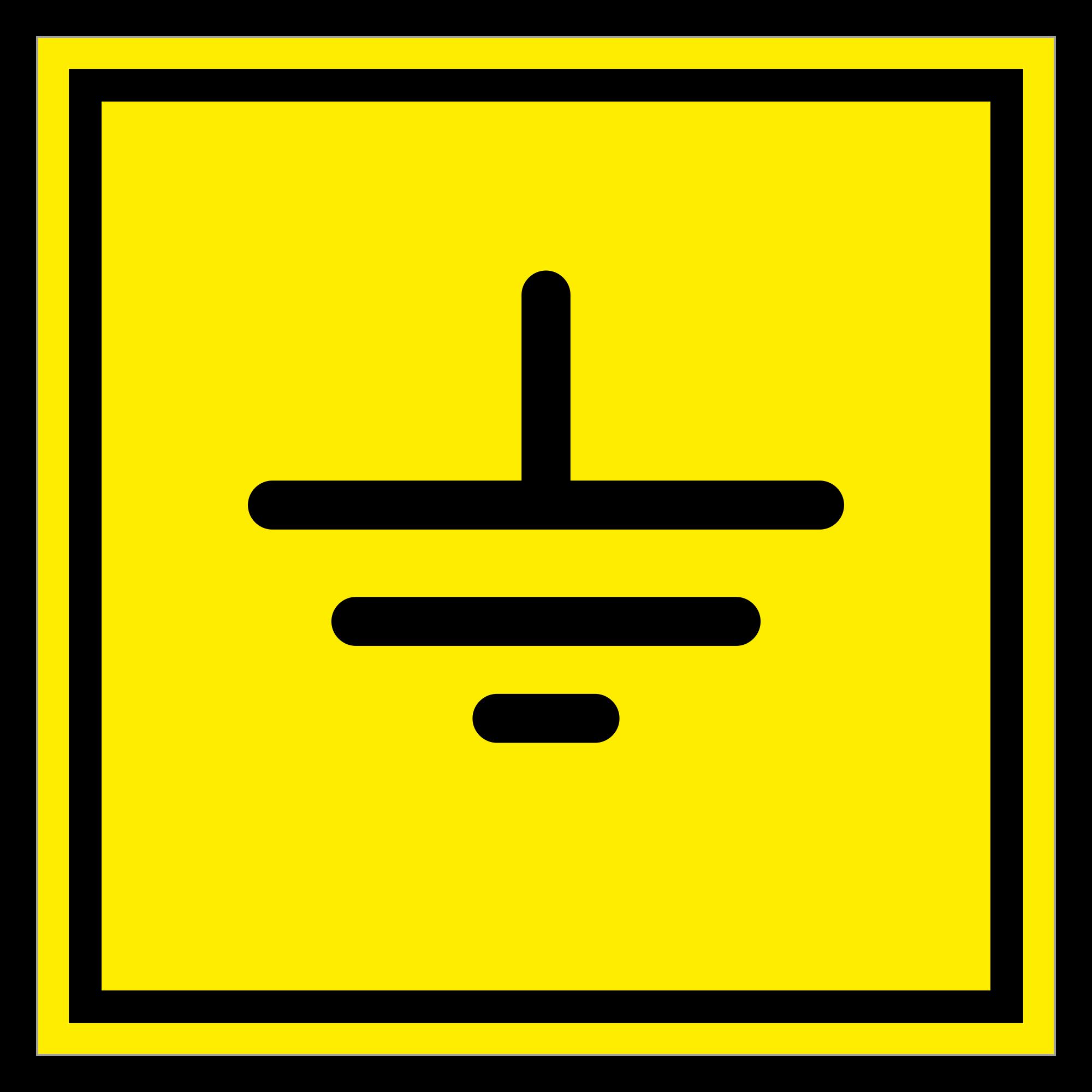 ЭБ-04 Знак заземления по ГОСТ