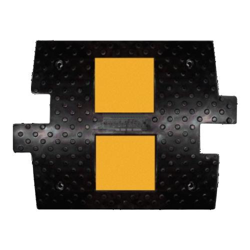 ИДН-500 резиновая, средний элемент с кабель каналом