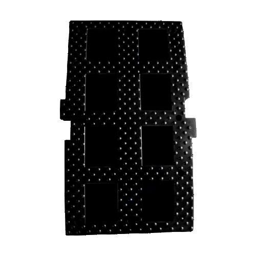 ИДН-900 резиновая, средний элемент, без световозвращателей