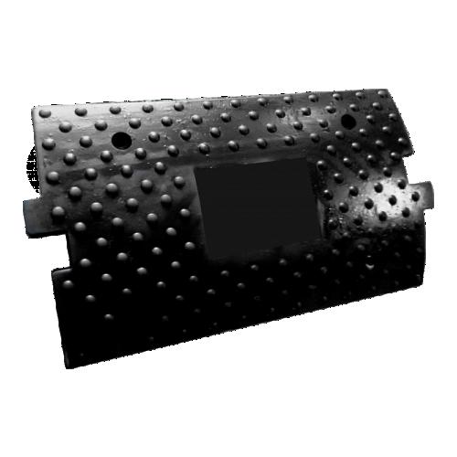 ИДН-300 резиновая, средний элемент, без световозвращателей