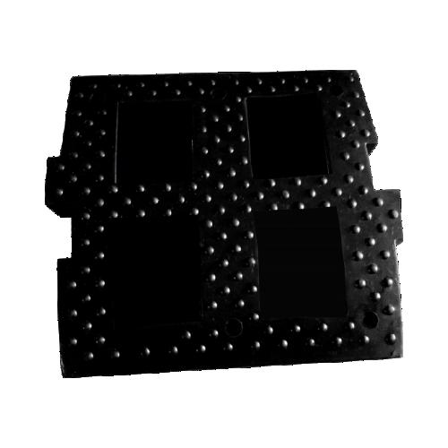 ИДН-500 резиновая, средний элемент, без световозвращателей
