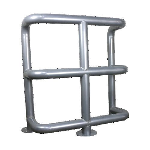Колесоотбойник металлический 3-х ярусный К-7