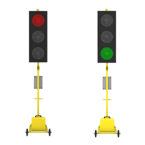 Мобильный светофор Т.1.1. Комплект из 2-х светофоров