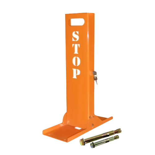 """Парковочный барьер """"Стоп"""" БМП-С-1 с крепежом"""