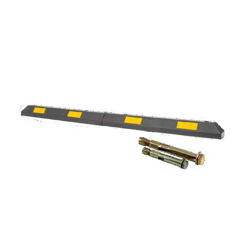 Резиновый колесоотбойник 2000 мм с крепежом