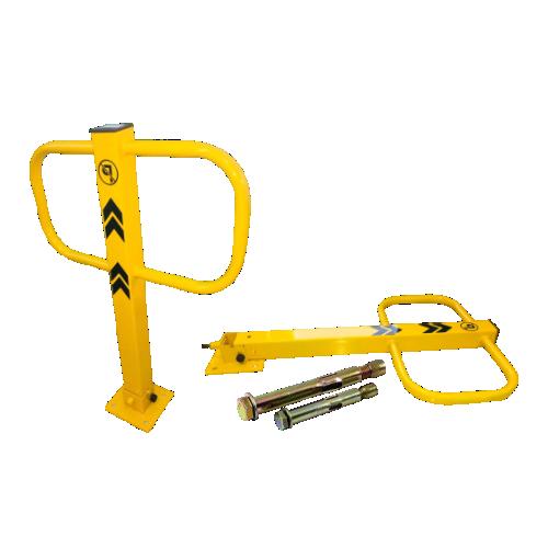 Столбик-барьер парковочный откидной СБПО-1 с крепежом