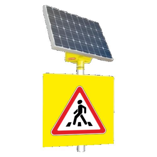 Автономный светодиодный знак 1.22 Пешеходный переход