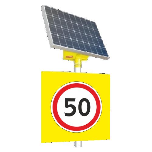Автономный светодиодный знак 3.24 Ограничение максимальной скорости