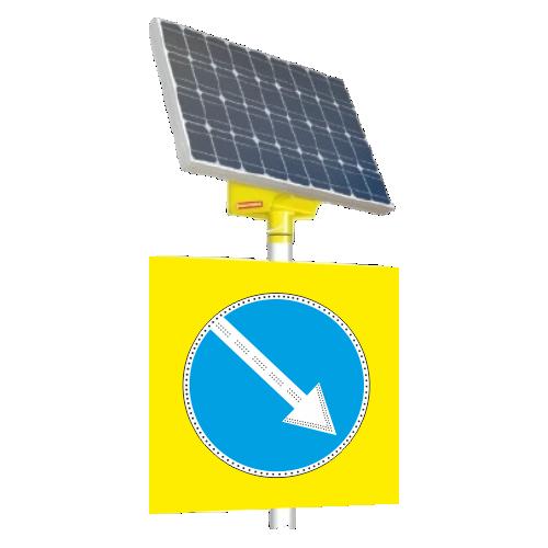 Автономный светодиодный знак 4.2.1 Объезд препятствия справа