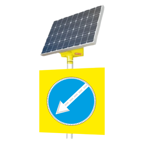 Автономный светодиодный знак 4.2.2 Объезд препятствия слева