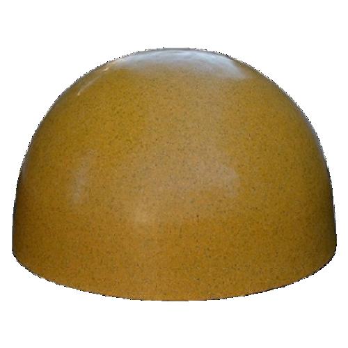 Бетонная полусфера БПС-13 [Под гранит, желтая]