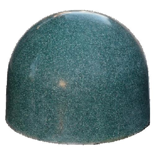 Бетонная полусфера БПС-12 [Под гранит, зеленая]