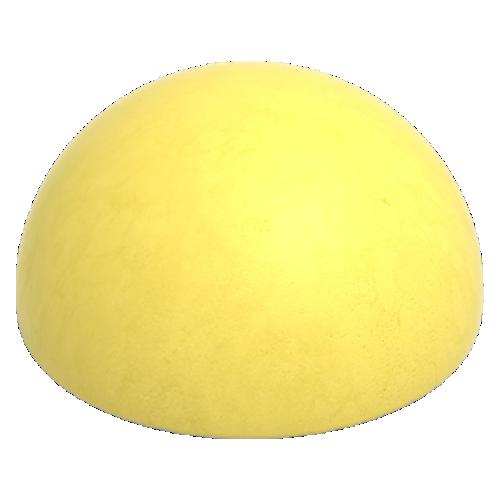 Бетонная полусфера БПС [Желтая]