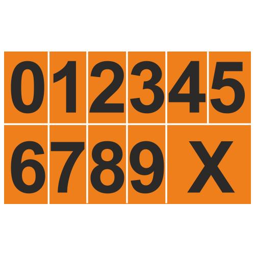 Цифра для наборной таблички (1 шт.)