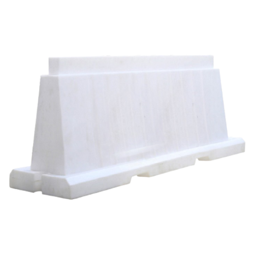 Дорожный блок водоналивной, пластиковый БВ-В-2-Б [белый, вкладывающийся]