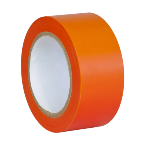 Лента для разметки пола оранжевая (Standart)