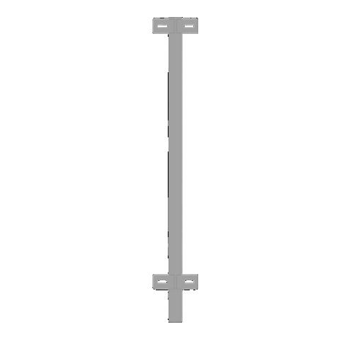 Столб промежуточный для пешеходного ограждения РПО-1 - РПО-5
