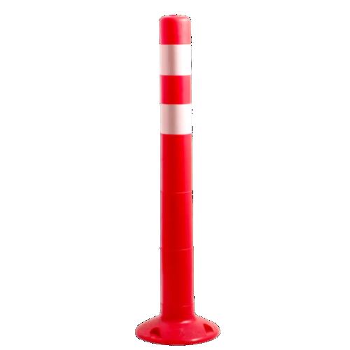 Столбик сигнальный упругий ССУ-750-2 [мягкий, гибкий, парковочный дорожный столбик]