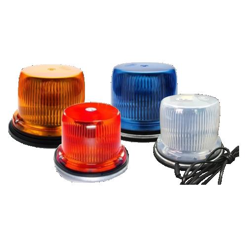 Светодиодный маяк ФП-1-120 (9 диодов) [Мигалка для автомобилей, магнитное крепление]