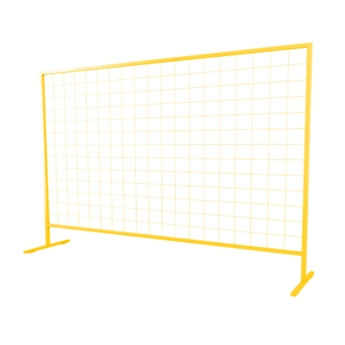 Временное строительное ограждение переносное ОС-10