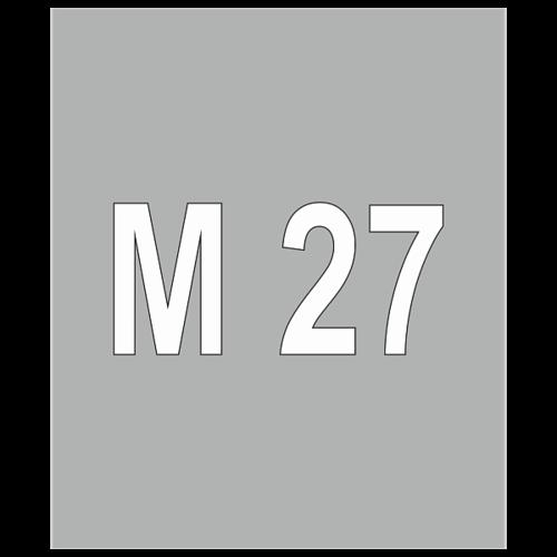 """Трафарет для дорожной разметки 1.22 """"Обозначение номера дороги"""" [Многоразовый]"""
