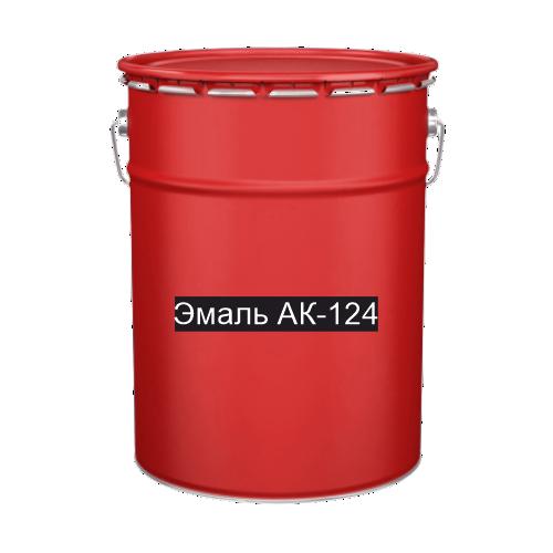 Краска для дорожной разметки Эмаль АК-124 красная