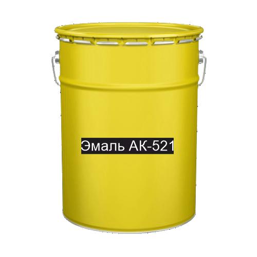 Краска для дорожной разметки Эмаль АК-521 желтая