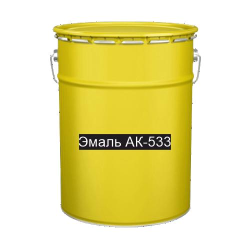 Краска для дорожной разметки Эмаль АК-533 желтая