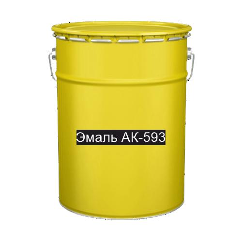 Краска для дорожной разметки Эмаль АК-593 желтая