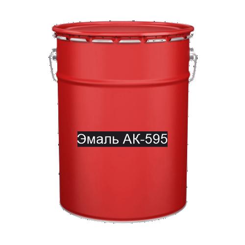 Краска для дорожной разметки Эмаль АК-595 красная
