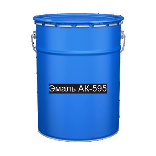 Краска для дорожной разметки Эмаль АК-595 синяя
